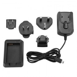 Caricatore di batteria lithium-ion per garmin Alpha 100